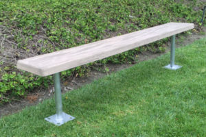 Simulated Wood Player Benches