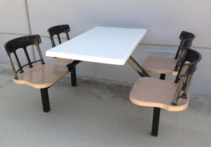 Individual Seat Tables