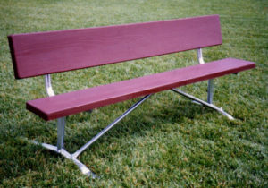 Simulated Wood Park Benches