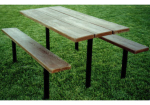 Simulated Wood Tables
